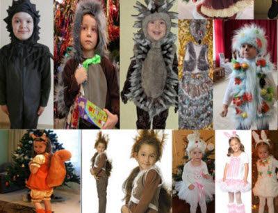 Как сделать своими руками костюмы: ежика, белочки, зайчика для мальчика и девочки с идеями, пошаговыми видеоуроками