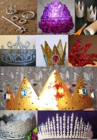 корона для снежинки