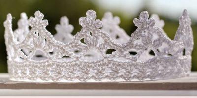 Корона для снежинки на новый год легко просто и быстро для новичков