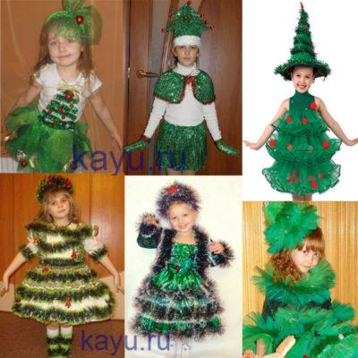Как сделать костюм елочки для девочки своими руками без специальных принадлежностей