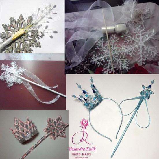волшебная палочка для снежинки