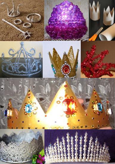 Как сделать корону для девочки своими руками легко и быстро