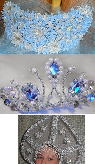 Корона сделанная своими руками может быть создана в разных техниках с использованием нескольких методов