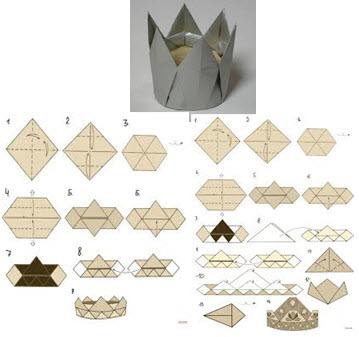 korona-iz-bumagi-origami