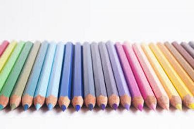 Разноцветные карандаши как их цвета называются на английском повторить