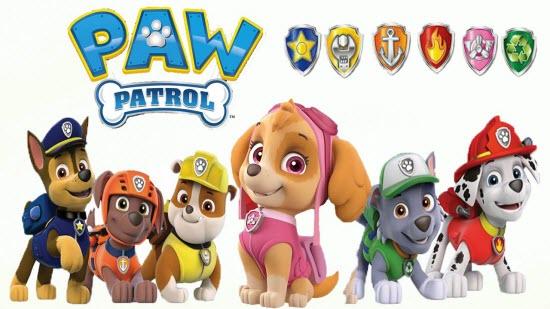 щенячий патруль как зовут щенков фото