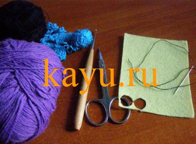 Сова амигуруми крючком  необходимые материалы фото